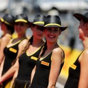 Formula One World Championship 2017, Round 11, Hungarian Grand Prix, Budapest, Hungary, Sunday 30 July 2017 – Grid girls on the drivers parade.