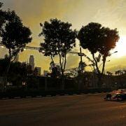 Formula One World Championship 2017, Round 14, Singapore Grand Prix, Singapore, Singapore, Friday 15 September 2017 – Sergio Perez (MEX) Sahara Force India F1