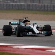 VT1: Hamilton trapt sterk af in Texas, Verstappen op P4