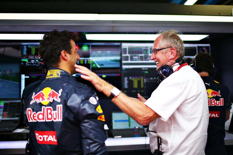 Marko: 'Moeten rekening houden met eventueel vertrek Ricciardo na 2018'