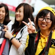 Formula One World Championship 2017, Round 16, Japanese Grand Prix, Suzuka, Japan, Thursday 5 October 2017 – Renault Sport F1 Team fans.