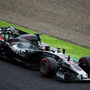 Formula One World Championship 2017, Round 16, Japanese Grand Prix, Suzuka, Japan, Friday 6 October 2017 – Kevin Magnussen (DEN) Haas VF-17.