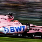 Formula One World Championship 2017, Round 16, Japanese Grand Prix, Suzuka, Japan, Saturday 7 October 2017 – Sergio Perez (MEX) Sahara Force India F1 VJM10.