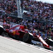 Formula One World Championship 2017, Round 17, United States Grand Prix, Austin, United States of America, Sunday 22 October 2017 – Sebastian Vettel (GER) Ferrari SF70H.