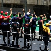 Formula One World Championship 2017, Round 19, Brazilian Grand Prix, Sao Paulo, Brazil, Sunday 12 November 2017 – The drivers parade.