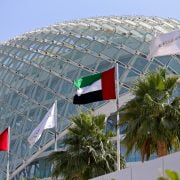Formula One World Championship 2017, Round 20, Abu Dhabi Grand Prix, Abu Dhabi, United Arab Emirates, Thursday 23 November 2017 – Track atmosphere