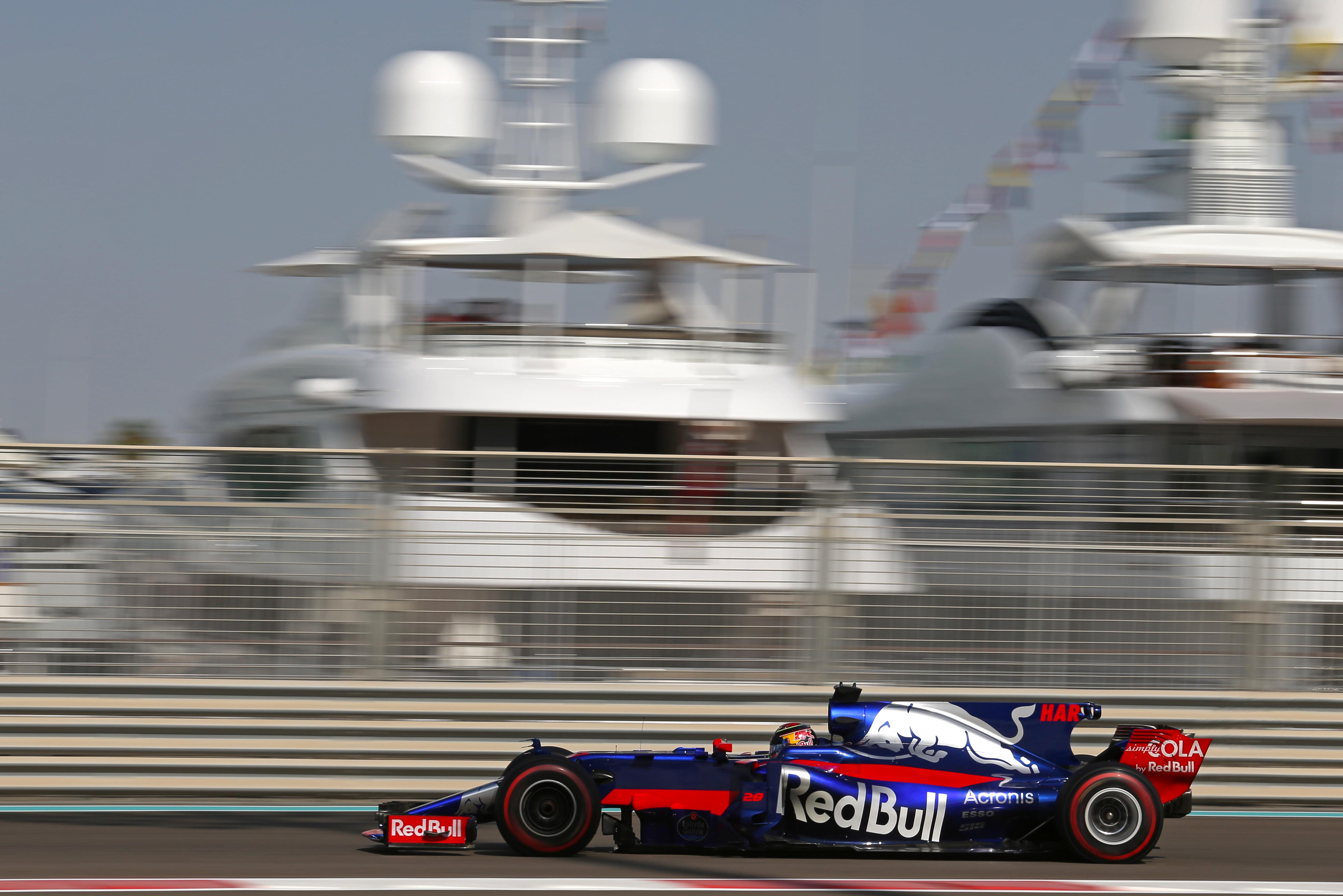 Formula One World Championship 2017, Round 20, Abu Dhabi Grand Prix, Abu Dhabi, United Arab Emirates, Friday 24 November 2017 – Brendon Hartley (NZ), Scuderia Toro Rosso