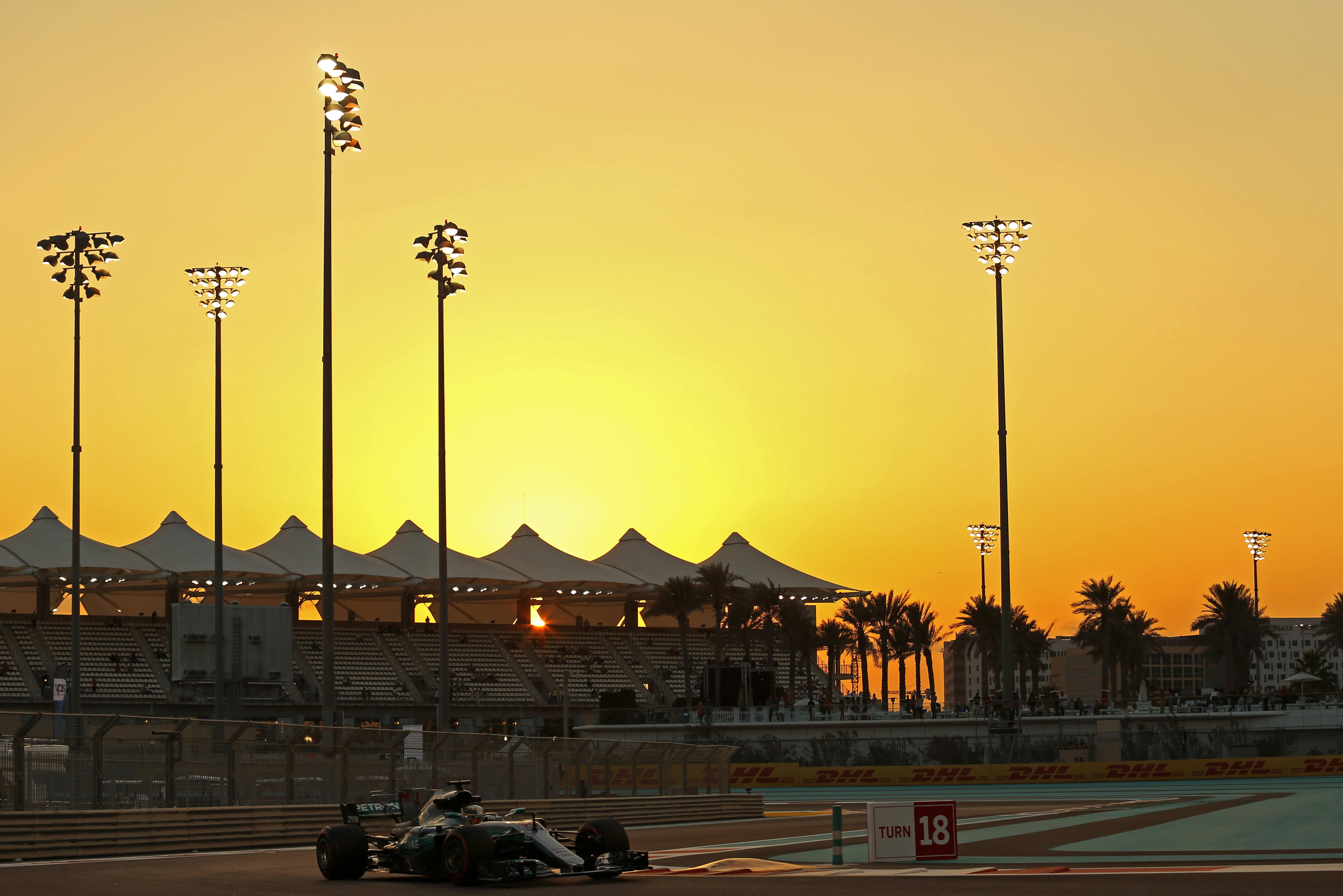 Formula One World Championship 2017, Round 20, Abu Dhabi Grand Prix, Abu Dhabi, United Arab Emirates, Friday 24 November 2017 – Lewis Hamilton (GBR) Mercedes AMG F1