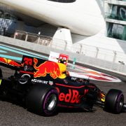 Formula One World Championship 2017, Round 20, Abu Dhabi Grand Prix, Abu Dhabi, United Arab Emirates, Saturday 25 November 2017 – Max Verstappen (NLD) Red Bull Racing RB13.