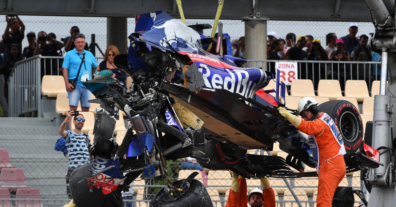 Dagboek uit Barcelona (4): Hartley is passagier bij Toro Rosso