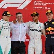 Wie zegt wat: Race GP Spanje