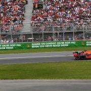 Verstappen derde in Grand Prix van Canada