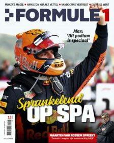 Formule 1 nr. 13 is uit!