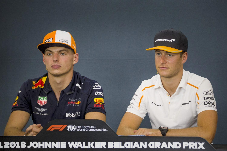 Verstappen zou vertrek Vandoorne jammer vinden: 'Toro Rosso? Dat gaat niet gebeuren'
