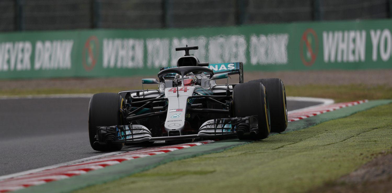 VT2: Hamilton opnieuw de snelste, Verstappen vierde