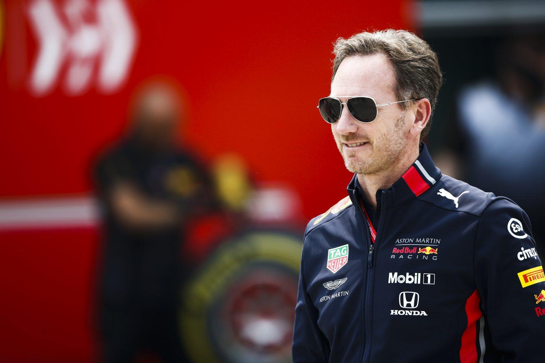 Red Bull-teambaas Horner: 'We zetten stappen met het chassis, ook motor steeds beter'