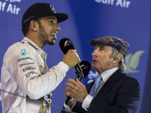 Jackie Stewart betwijfelt of Hamilton even goed is als Senna of Schumacher