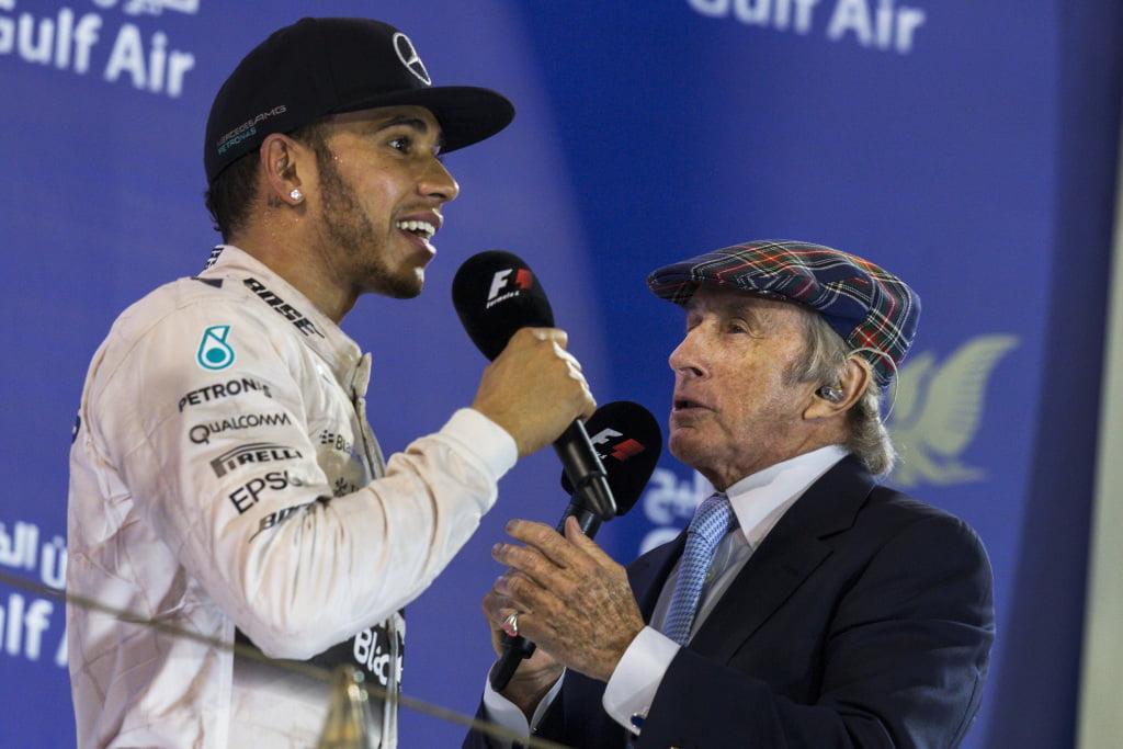 Jackie Stewart betwijfelt of Hamilton even goed is als Senna of Schumacher