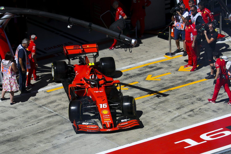 VT3: Leclerc snelste in slottraining Oostenrijk