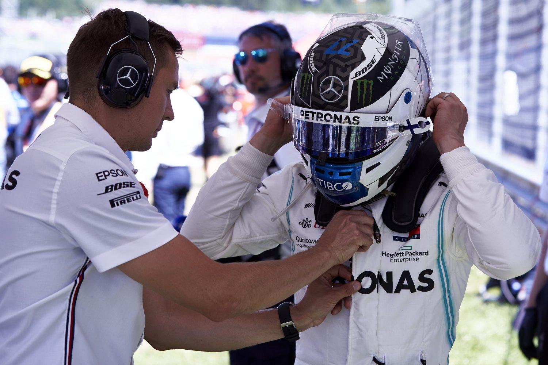 Bottas hoopt op sterker Mercedes in Silverstone: 'Moeten onderzoeken wat mis ging in Oostenrijk'