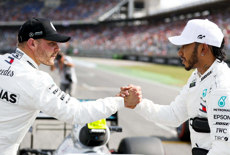 Hamilton: 'Bottas en ik zijn het beste rijdersduo in de F1'