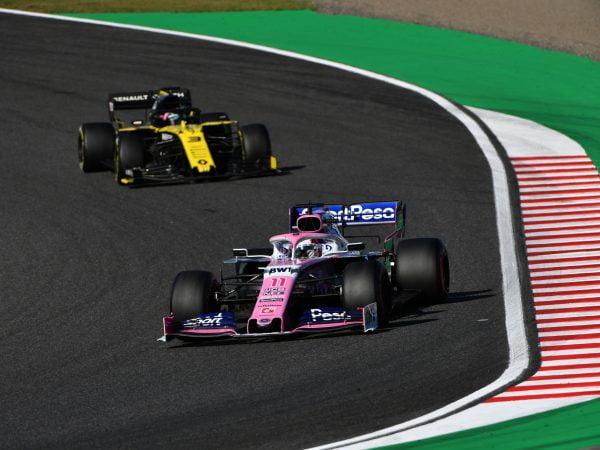 Racing Point tekent protest aan tegen Renault wegens 'automatisch rembalans-systeem'