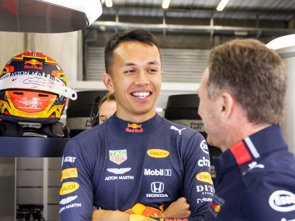 Officieel: Albon rijdt ook in 2020 voor Red Bull