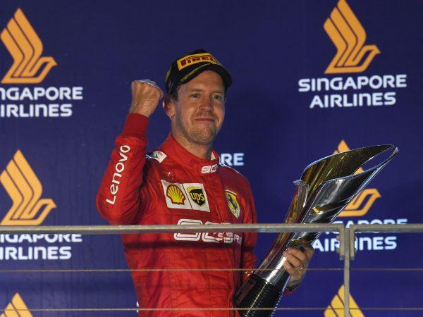 Binotto: 'Zege in Singapore heel belangrijk voor Vettels vertrouwen in Ferrari'