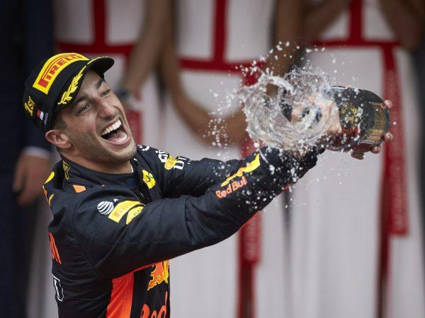 29 dagen tot groen licht: Daniel Ricciardo 29 keer op het podium