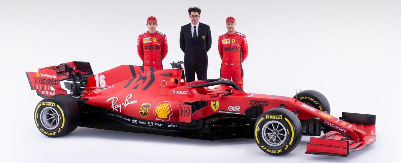 Ferrari nieuwe F1 auto 2020