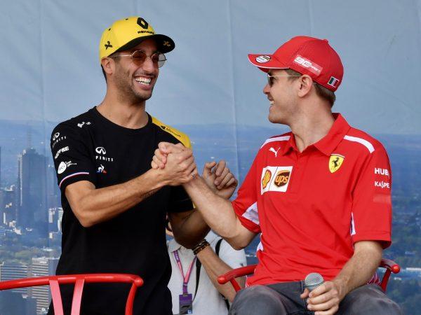 Ricciardo: 'Geloof wel dat Vettel hongerig en competitief genoeg is om door te gaan'