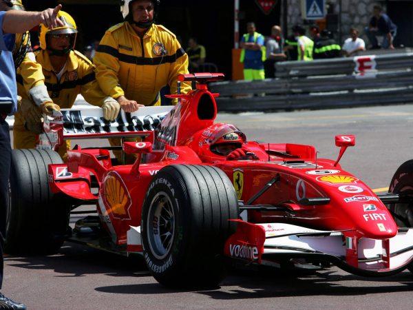 De streek van Schumacher: op de bon voor foutparkeren in Monaco