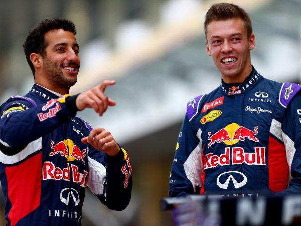 Tost nog altijd onder de indruk van Kvyat: 'Hij was meermaals sneller dan Ricciardo'