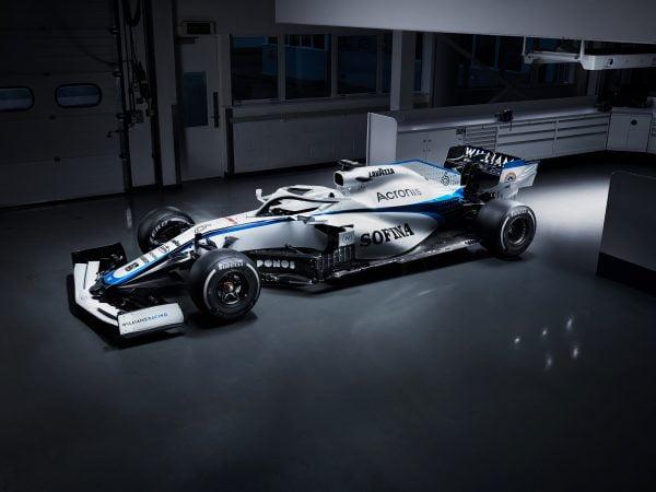 Williams toont nieuwe kleurstelling: veel wit na breuk met titelsponsor