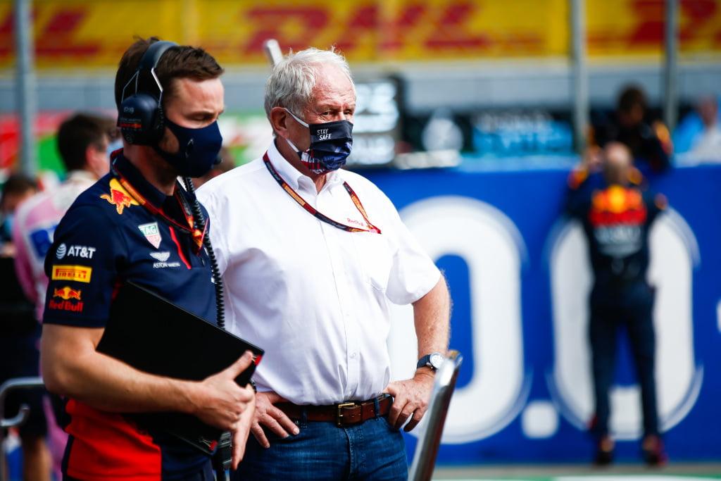 Marko: 'Hamilton moet zich niet met andere teams bemoeien'
