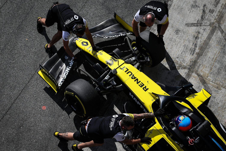 Renault ziet kansen in 2021 met 'grote boze haai' Alonso