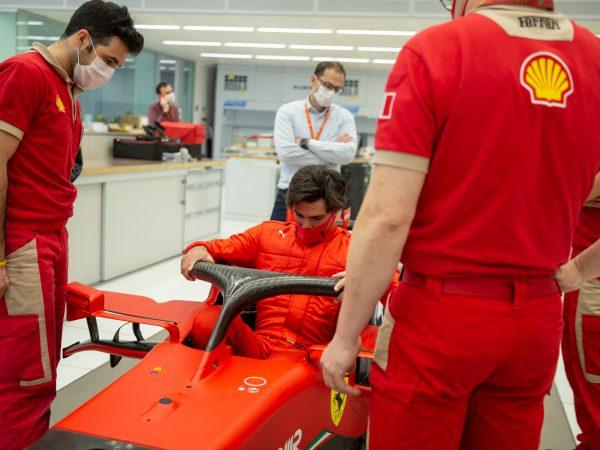 Sainz maakt volgende week zijn eerste Ferrari-meters op Fiorano met 2018-auto