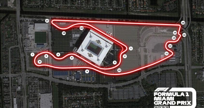 Video F1-circuit miami