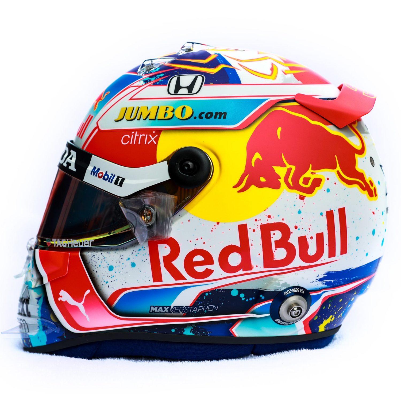 Verstappen onthult helm voor Nederlandse Grand Prix | Formule1.nl